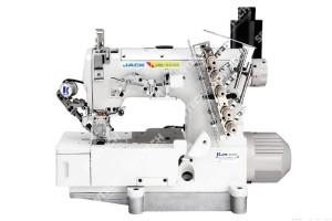 Jack JK-8569E-01GBХ364/H/UT 3-х игольная автоматическая плоскошовная швейная машина