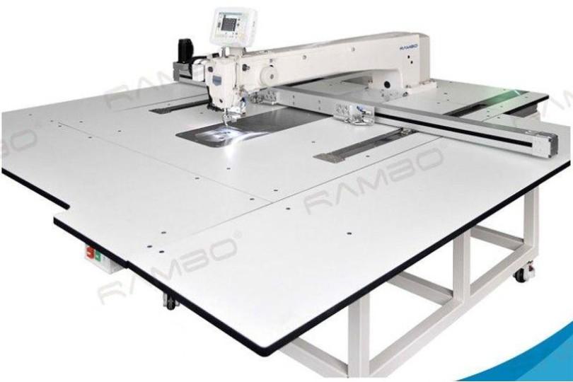 Rambo RM-12060 Комп'ютерна швейна машина для пришивання по контуру з збільшеною робочою зоною 1200×600 мм