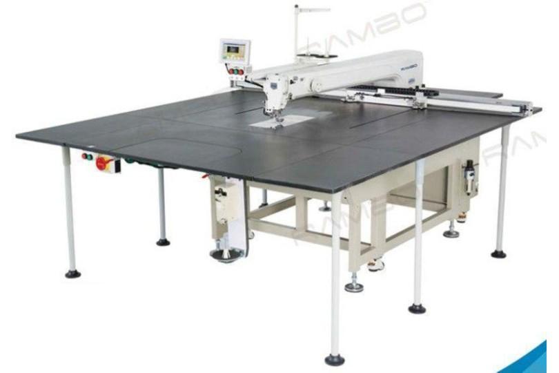 Rambo RM-12080H Компьютерная швейная машина для пришивания по контуру с увеличенной рабочей зоной 1200×800 мм
