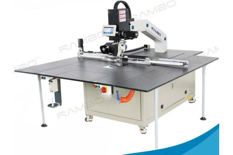 Rambo RM-15090RL Автоматическая швейная машина с вращающейся головкой и с увеличенной рабочей зоной 1500×900 мм