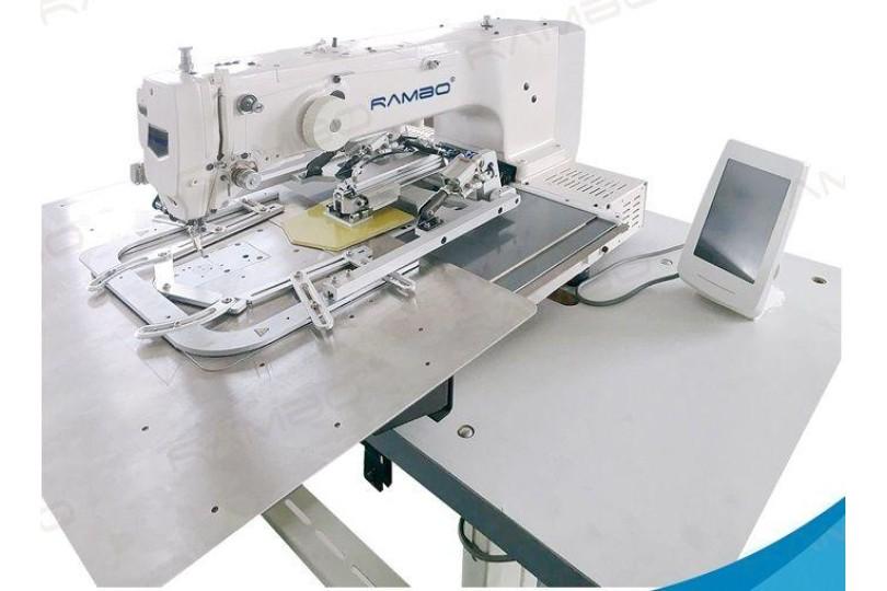 Rambo RM-3020PSM Компьютерная высокоскоростная машина для формирования и пришивания накладных карманов 200×200 мм