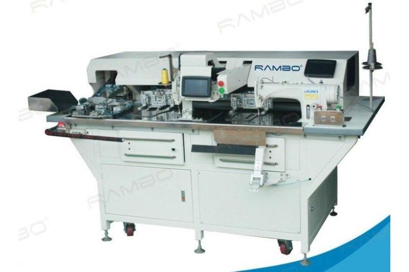 Rambo RM-380H Автоматическая машина для пришивания накладных карманов нитями двух цветов