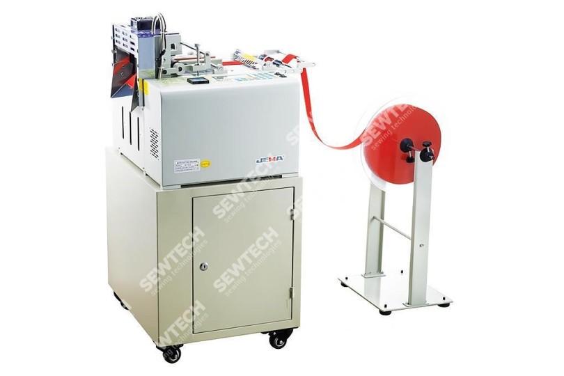 Автоматическая машина Jema JM-130LR для нарезки средних и плотныx материалов холодным та горячим ножом