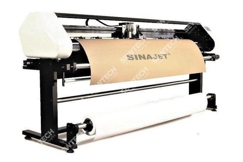 Sinajet Popjet 1611-G Режущий струйный плоттер с системой непрерывной подачи чернил