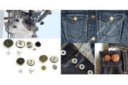 Seungmin SM900-N Электрический пресс для установки джинсовых пуговиц