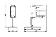 Hoffman HF-220S Вертикальный раскройный нож