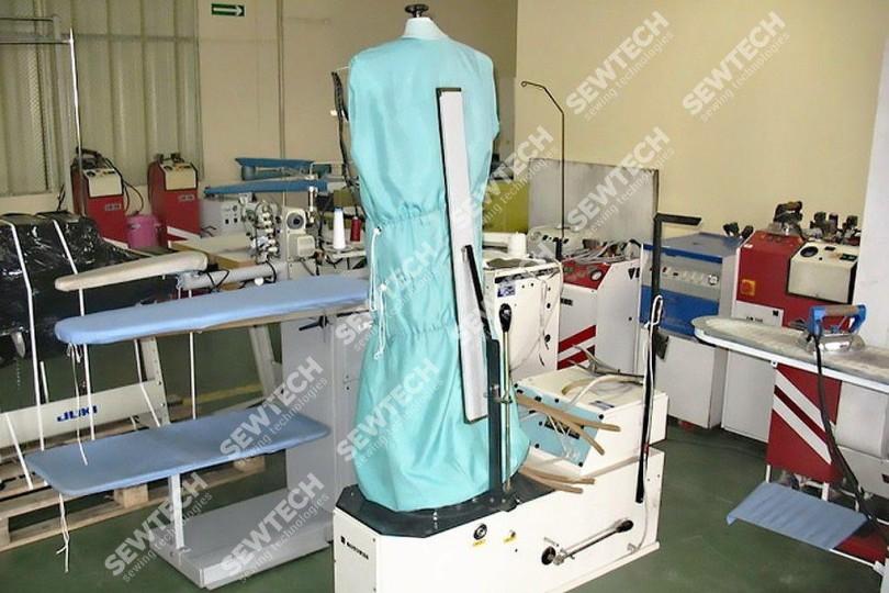 Пароманекен Rotondi QAD-2 для фінішної обробки піджаків, курток, плащів