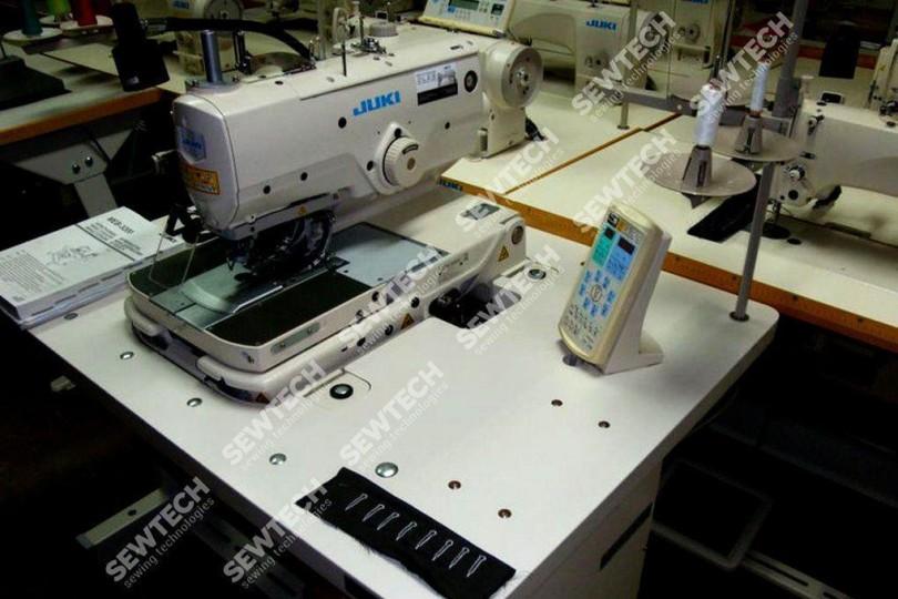 Juki MEB 3200S Петельный автомат (с мультисистемной прорубкой петель)