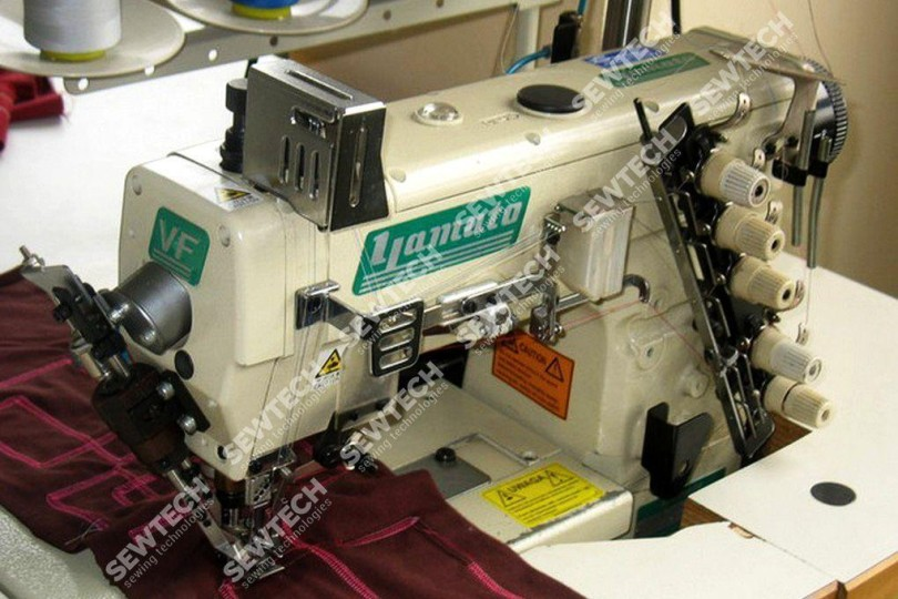 Yamato VF2500-156S-PA/UT-A4/ST-A Плоскошовная распошивальная машина