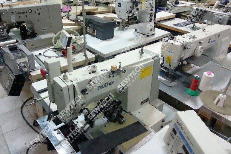 Brother BAS-311E Автомат для шитья по контуру