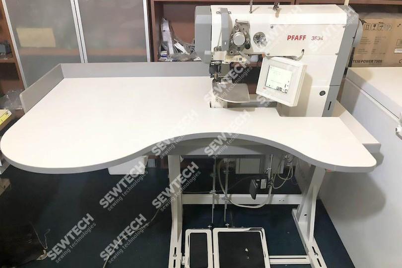 Pfaff 3834 Автоматическая швейная машина для программного втачивания рукавов