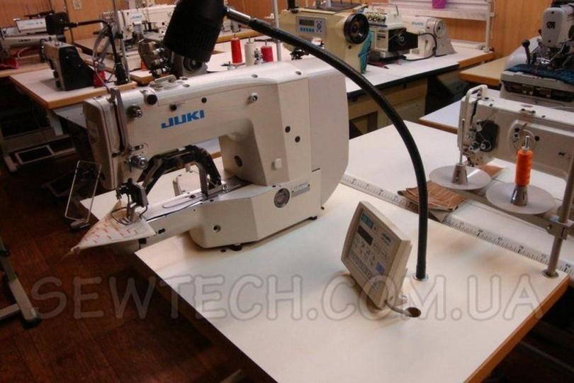 Juki LK-1900 AHS Закріплювальна машина для важких тканин