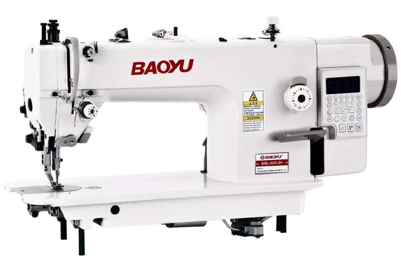 Промислова швейна машина Baoyu BML-0303-D4 з вбудованим енергозберігаючим сервомотором і подвійним транспортом матеріалу