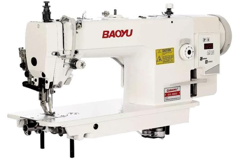 Baoyu BML-0303D промислова швейна машина з вбудованим енергозберігаючим сервомотором і подвійним транспортом матеріалу