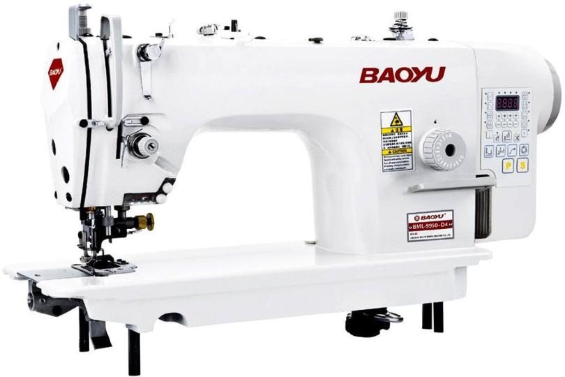 Компьютерная промышленная швейная машина Baoyu BML-9950-D4 со встроенным энергосберегающим сервомотором и устройством обрезки края материала