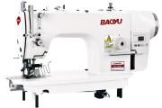 Промислова швейна машина Baoyu BML-9950A з вбудованим сервомотором, врізним окантователем і пристроєм обрізки краю матеріалу