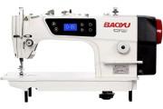 Промислова швейна машина Baoyu GT-180H з вбудованим безшумним сервомотором та позиціонером голки для середніх і важких тканин