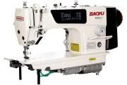 Baoyu GT-280 комп'ютерна промислова швейна машина з сенсорним дисплеєм, напівсухою головою і вбудованим сервомотором для легких і середніх тканин
