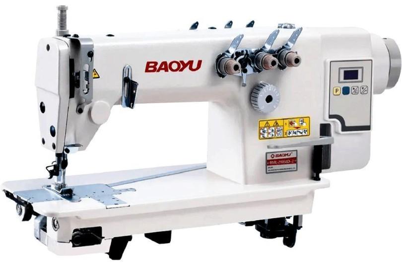 Baoyu BML-20058D-2-64 Двухигольная швейная машина цепного стежка со встроенным сервоприводом