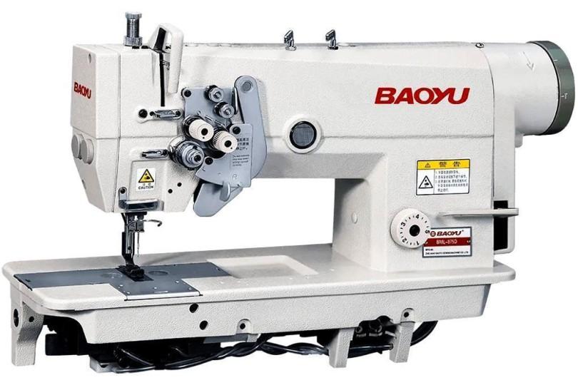 Baoyu BML-875D-64 Двохголкова швейна машина зі збільшеним човником, голководом, що відключається і вбудованим сервоприводом для середніх і важких тканин
