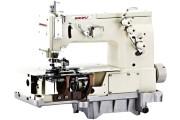 Двохголкова промислова швейна машина Baoyu BML-2000C-64 ланцюгового стібка для пошиття поясних петель