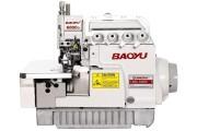 Baoyu BML-6800D-4 чотирьохнитковий промисловий високошвидкісний оверлок з вбудованим економічним сервомотором і LED-підсвічуванням