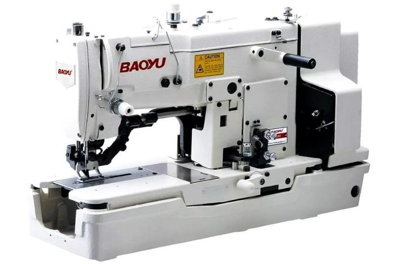 Електромеханічна петельна швейна машина Baoyu BML-781 з вбудованим індукційним мотором і довжиною петлі до 22 мм