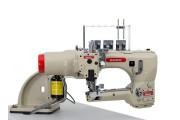 Четырехигольная промышленная швейная машина флетлок Baoyu BML-740-02-G2-6 с встроенным сервомотором для легких и средних тканей