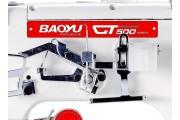 Промышленная распошивальная машина с плоской платформой Baoyu GT-500D-FQ-356 3в1 со встроенным энергосберегающим сервомотором для легких и средних материалов
