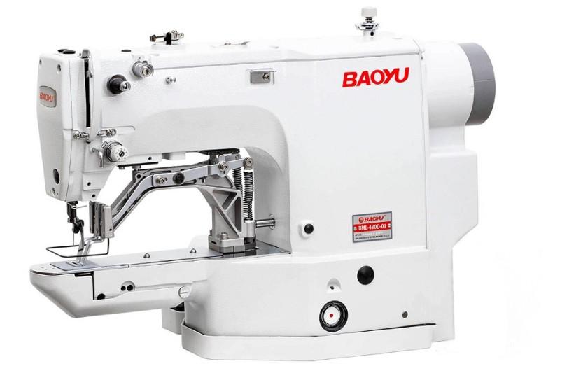 Baoyu BML-430D-01 Компьютерная закрепочная швейная машина с рабочим полем 40x30 мм для легких и средних материалов