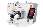 Електронна закріплювальна машина Bruce BRC-T1900GSK з робочим полем 40х30 мм і опцією для пришивання плоских гудзиків
