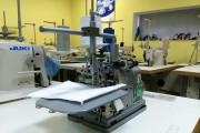 Промышленный оверлок Inderle IDL-30 для обработки края шевронов и других нашивок