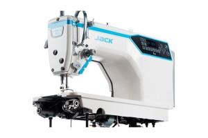 Jack A4E-Q Промислова швейна машина для легких та середніх матеріалів