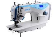 1-игольная швейная машина челночного стежка Jack JK-5559G-W с автоматическими функциями и обрезкой края материала