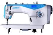 Прямострочная швейная машина Jack JK-A3-H с автоматической закрепкой и обрезкой нити для средних и тяжелых тканей