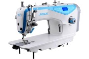 Комп'ютерна промислова швейна машина Jack JK-A4-H з автоматичними функціями для середніх і важких тканин