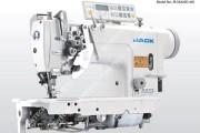 2-х игольная автоматическая швейная машина Jack JK-58450D4 челночного стежка с прямым приводом и отключением игл