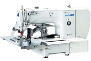 Автоматическая промышленная 1-игольная машина челночного стежка Jack JK-T1310D/F1 для шитья по контуру 130×100 мм