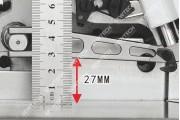 Jack JK-798D-3-32R/223 3-х ниточный промышленный оверлок с встроенным приводом для опиковки
