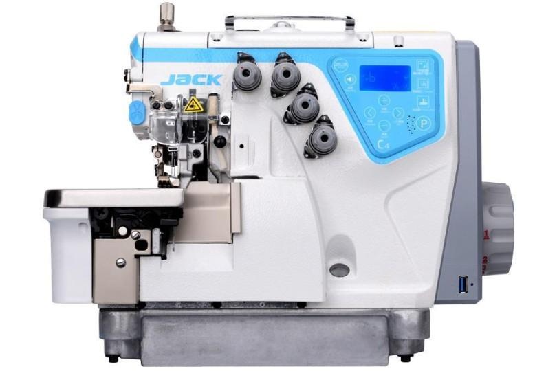 4-х нитковий повністю комп'ютеризований промисловий оверлок Jack JK-C4-4-M03/333 з автоматичними функціями