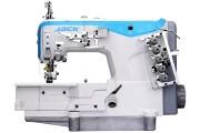3-х игольная плоскошовная машина Jack JK-W4-D-01GB 356/364 с верхним застилом и прямым приводом (новая модель)