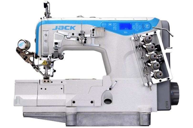 3-х голкова 5-ти ниткова плоскошовна машина Jack W4-UT-01GB-356 з автоматичним обрізанням ниток
