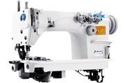 Jack JK-8560W 3-игольная промышленная швейная машина цепного стежка с плоской платформой