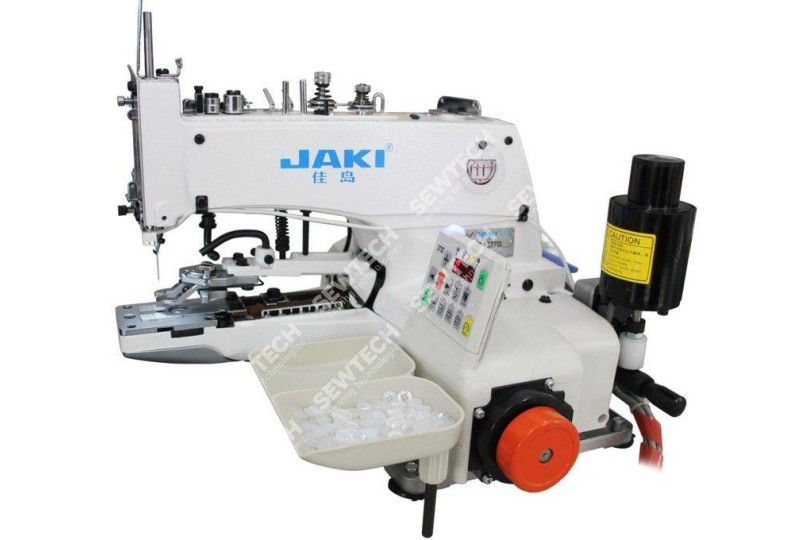 Jaki JR1377D Механічна гудзикова машина з вбудованим серводвигуном