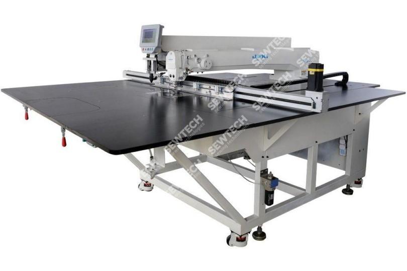 Jaki JR8D-18100LS Електронна машина циклічної шиття з лазером і робочим полем 1200х900 мм