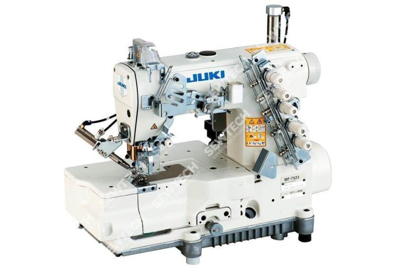 Juki MF-7523-E11-B56 Плоскошовная швейна машина для вшивання гумки з обрізанням краю матеріалу