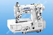 Juki MF-7523-E11-B56 Плоскошовная швейная машина для вшивания резинки с обрезкой края материала