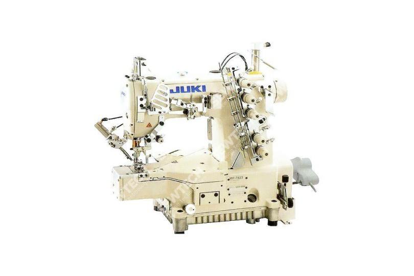 Juki MF-7923-U11-B56-(64)-UT51-(57)SC921BN-M51N-CP18B Плоскошовная автоматична швейна машина з циліндричною платформою