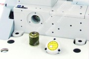 Плоскошовна машина Pegasus W562PV-05Cx240BS/FT9B з плоскою платформою підрізуванням краю матеріалу, для вшивання резинки у виріб
