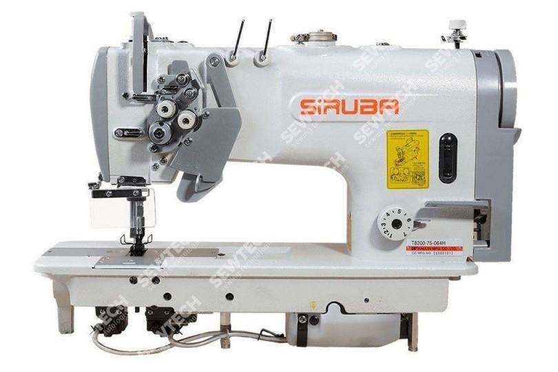 2-игольная машина челночного стежка Siruba T8200-42-064ML для стачивание изделия из легких исредних тканей